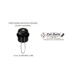 Put-Butts Put-Butts Spegnisigaro TAPPO ERMETICO CON CLIP - Made in Italy